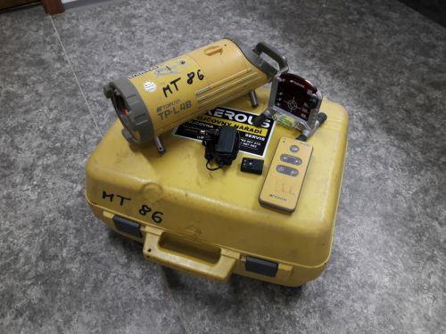 Potrubní laser TOPCON TP-L4B (MT86) + kalibrace