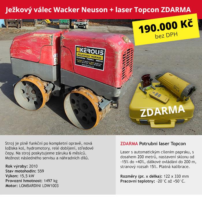 Ježkový válec kloubový Wacker Neuson RT 82 (JV50)